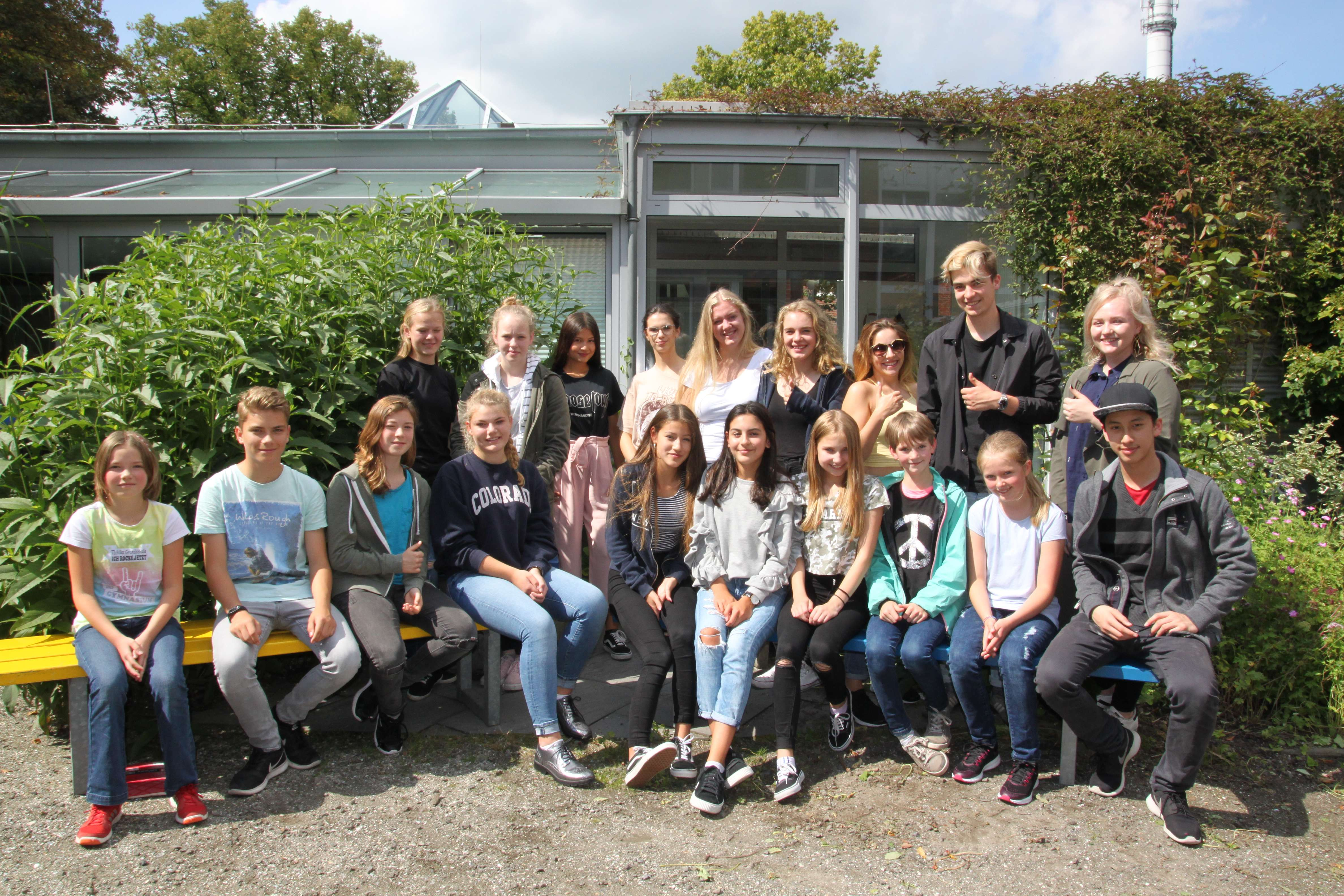 Schüler Cäcilienschule Wilhelmshaven